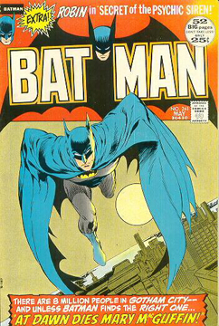 Batman #241 by Neal Adams