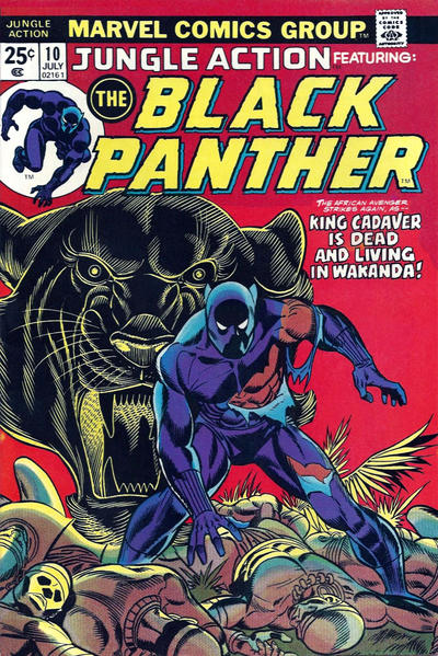 Jungle Action 10 Black Panther